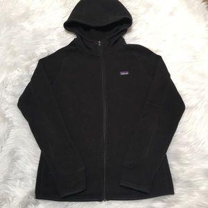 Patagonia Better Sweater Black Hooded Zip Jacket
